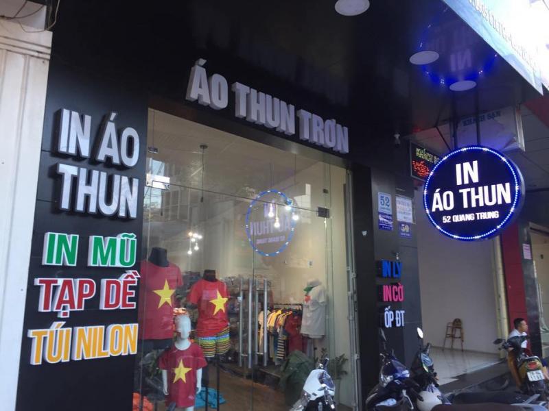 In áo Nha Trang.