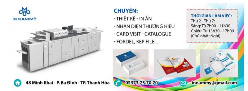 Đây là một công ty in ấn uy tín ở Thanh Hóa được rất nhiều khách hàng tin tưởng.