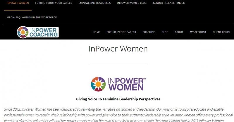 Website của INPower Women