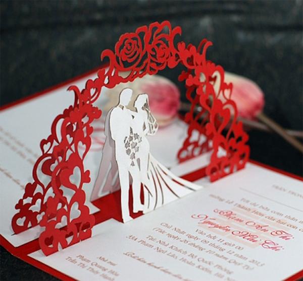 Thiệp cưới đẹp cho đám cưới thêm ý nghĩa