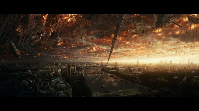 Cuộc chiến khốc liệt giữa nhân loại và người ngoài hành tinh.