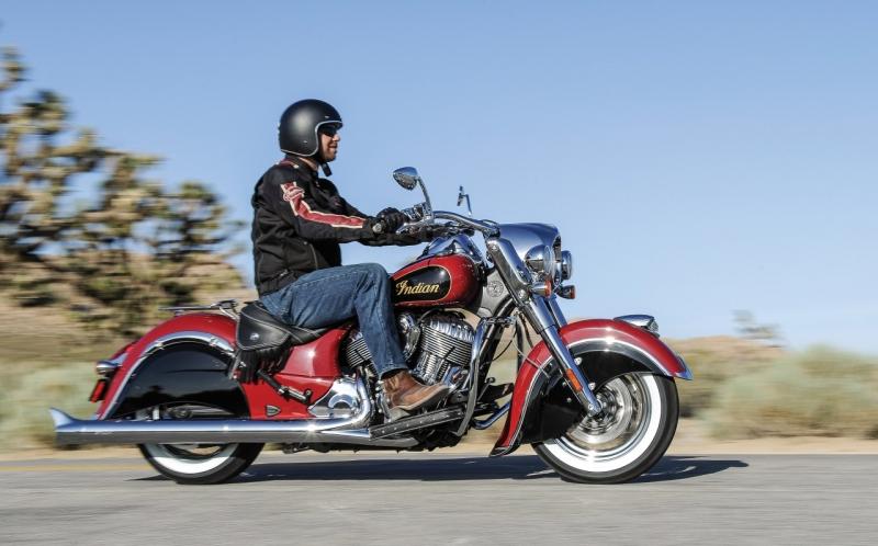 Xe gắn máy thương hiệu Indian Motorcycle