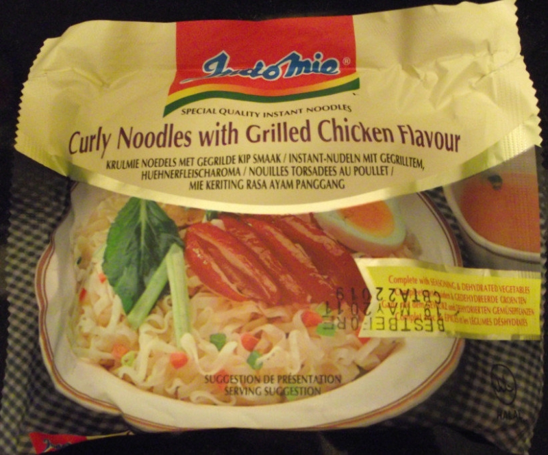 Indomie Curly Noodle With Grilled Chicken Flavour
