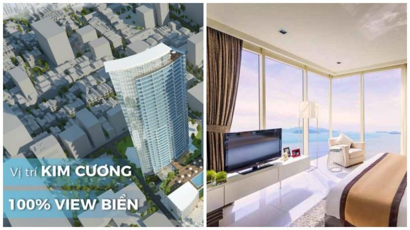 Infinity Field Premier Residences với 100% các căn hộ đều có view biển