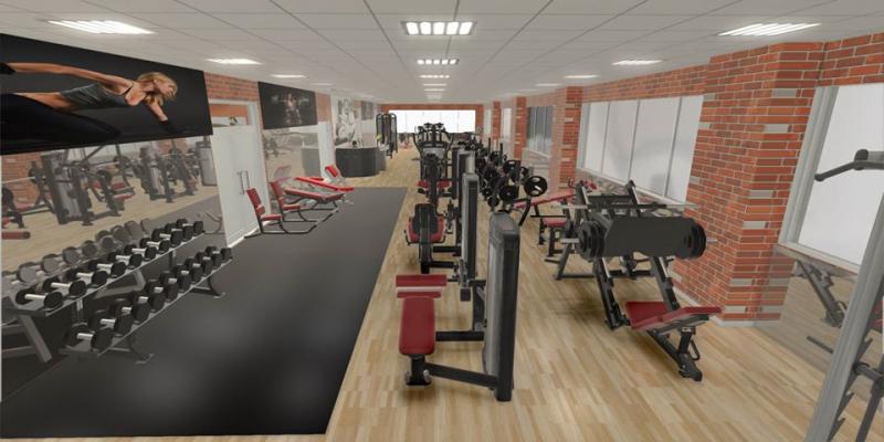 Một phần không gian của Infinity Gym & Fitness