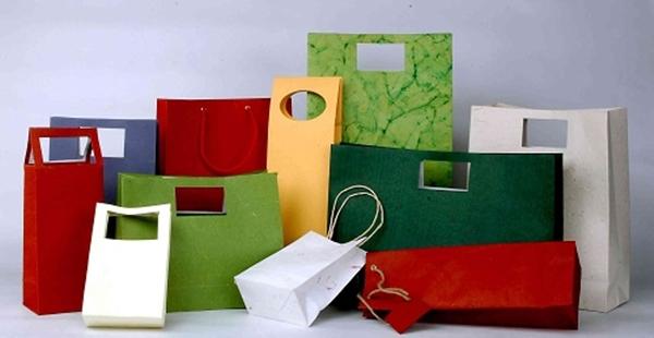 Thiết kế túi giấy đa dạng mẫu mã theo yêu cầu khách hàng.