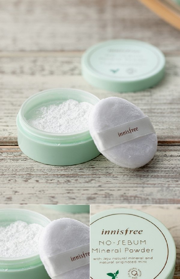 No sebum mineral powder (5g)