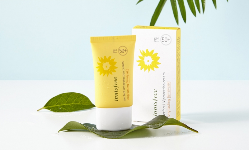 Kem chống nắng Innisfree Perfect UV Protection Cream Long Lasting SPF 50+ PA+++