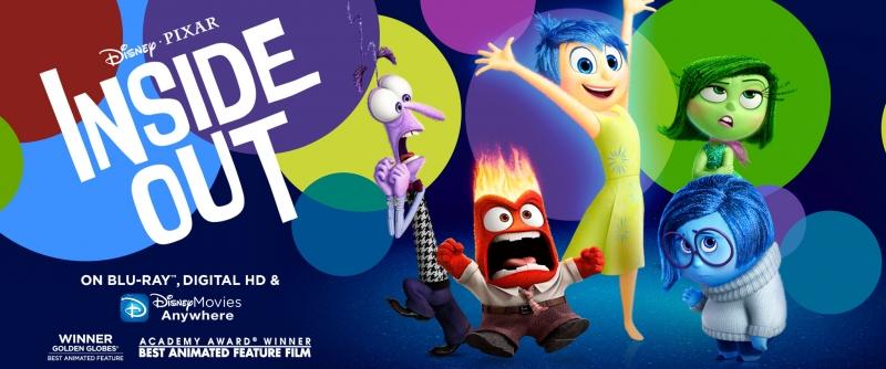 Inside Out là bộ phim hoạt hình hài nhẹ nhàng cho trẻ em.