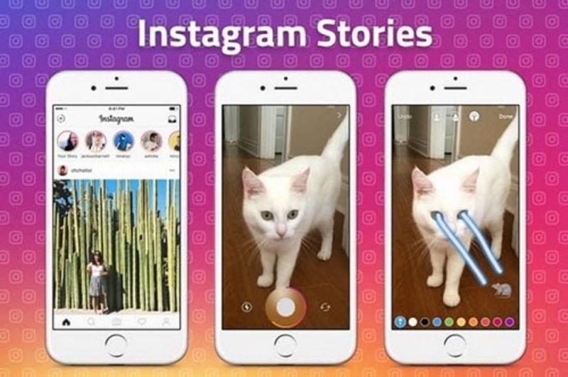 Chức năng Stories của Instagram