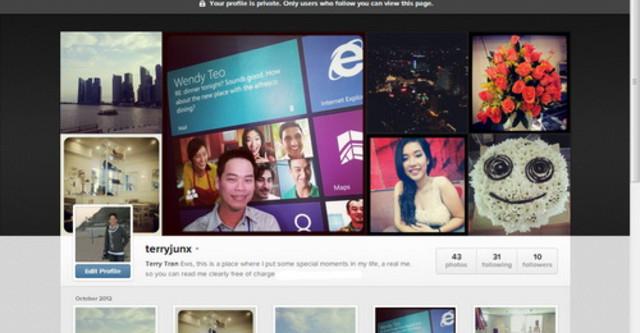 Website instagram.com