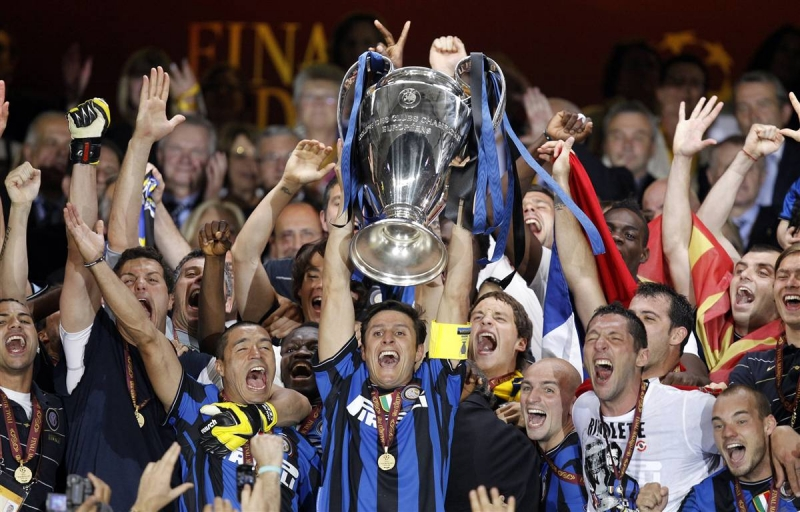 Inter Milan vô địch C1 năm 2010 dưới thời HLV Jose Mourinho
