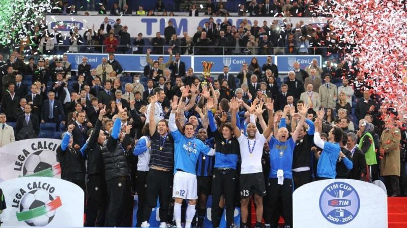 Inter hoàn tất cú ăn 3 năm 2010