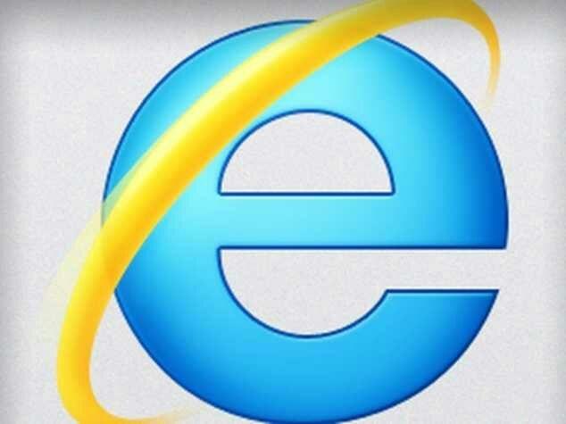 Internet Explorer là một trong những trình duyệt đời đầu.