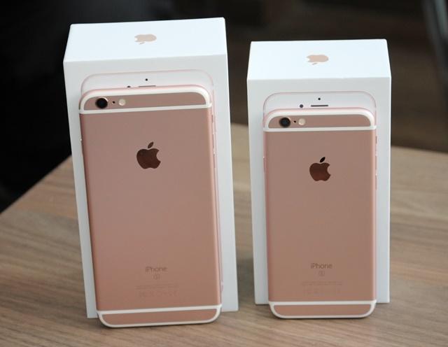 Bộ đôi iPhone 6S/6S Plus nâng cấp trải nghiệm mạnh mẽ