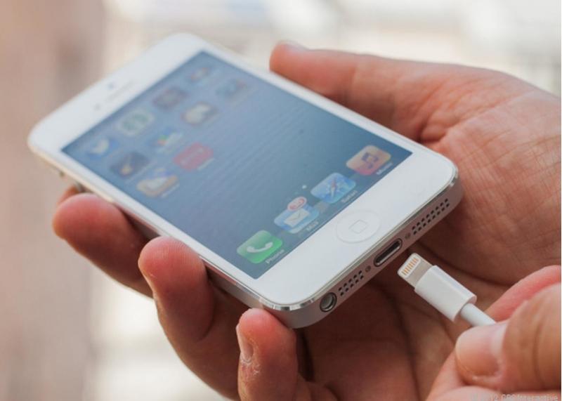 iPhone không thể sạc