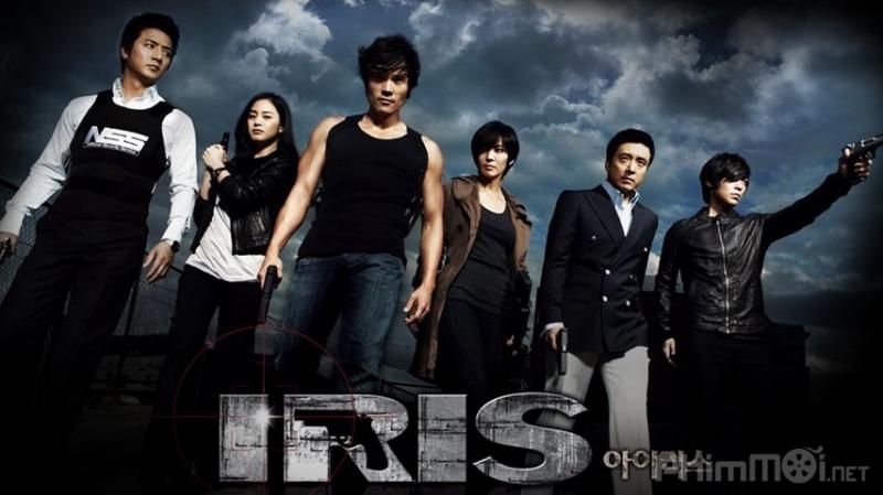 Poster đầy ấn tượng của Mật danh Iris