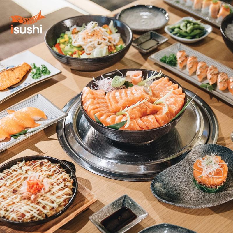 Một số món ăn tại Ishushi
