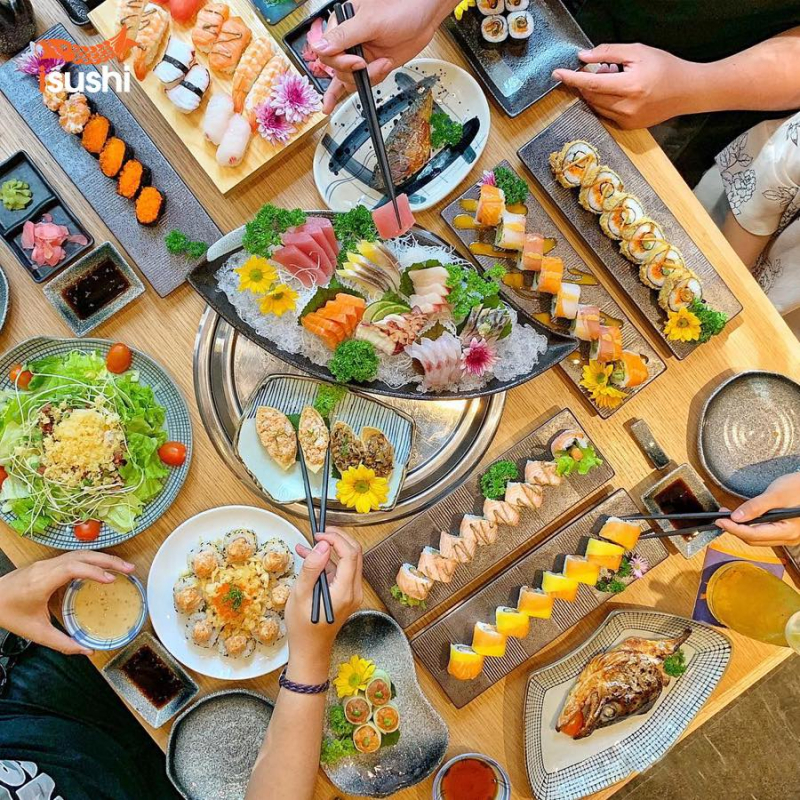 Top 12 nhà hàng sushi ngon nổi tiếng tại quận 3, Tp. HCM