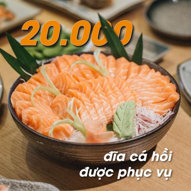 iSushi - Buffet Nhật Bản