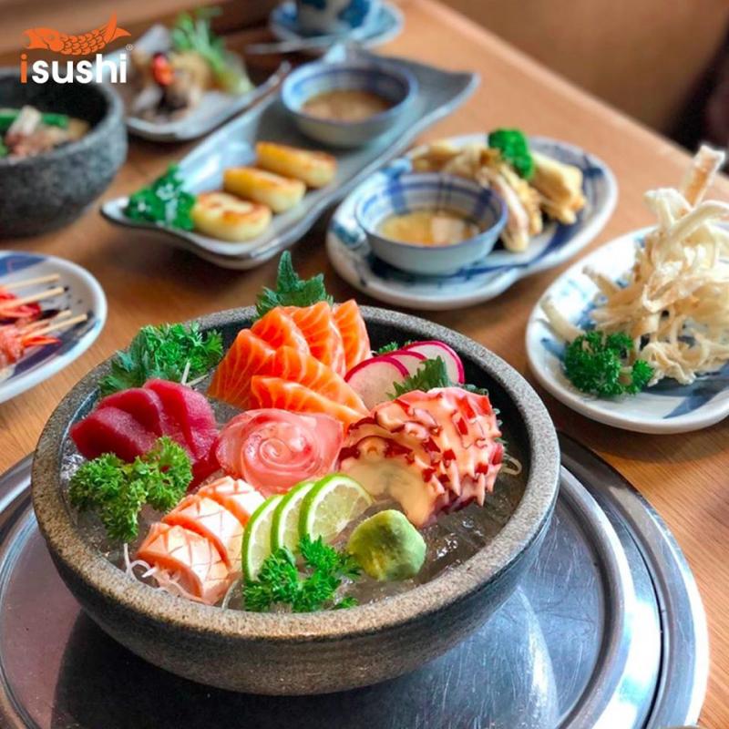 iSushi - Nhà hàng Buffet Nhật Bản
