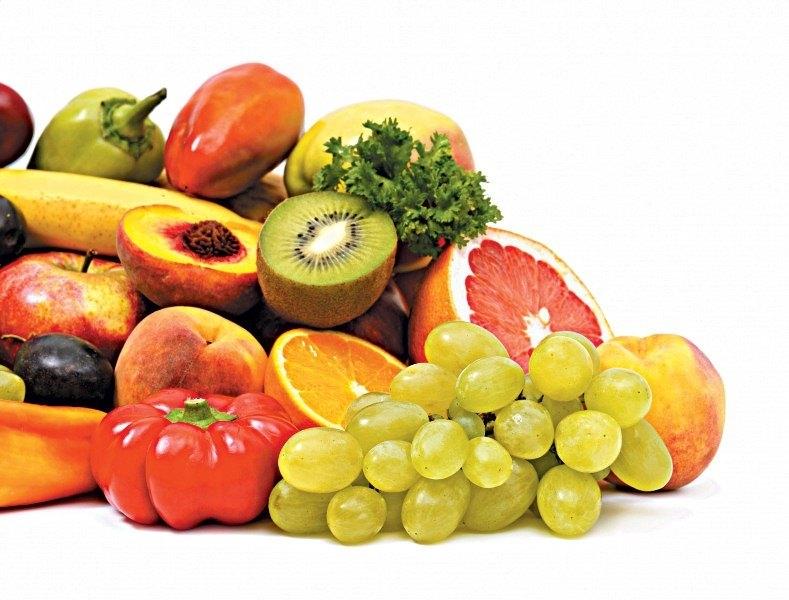 Ít ăn trái cây và rau quả