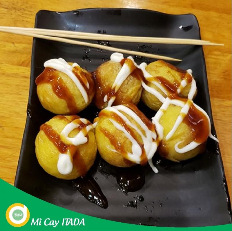 Đối với món bánh bạch tuộc của Itada, các tín đồ ăn vặt cũng có lời khen ngợi.