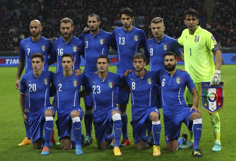 Tập thể già nua nhưng vẫn sẽ rất đáng ngại của đội tuyển Ý