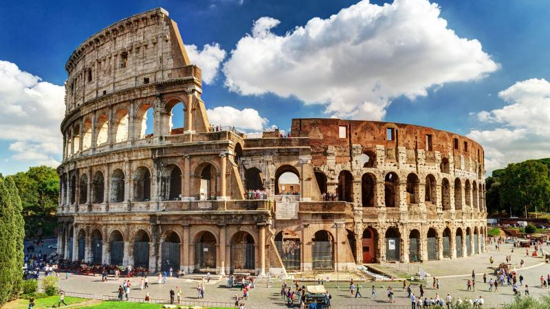 Đấu trường La Mã, Italy