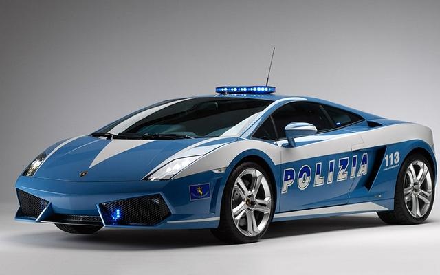 Lamborghini Gallardo LP560-4 mới nhất của cảnh sát Italy