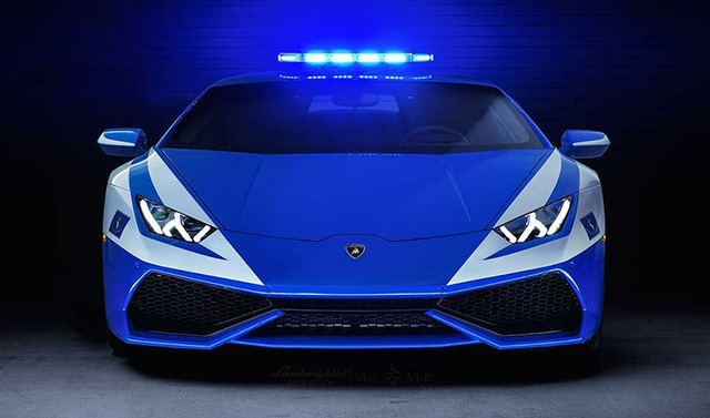Lamborghini Hurracan của cảnh sát Italy