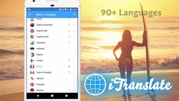 iTranslate – free translator & dictionary