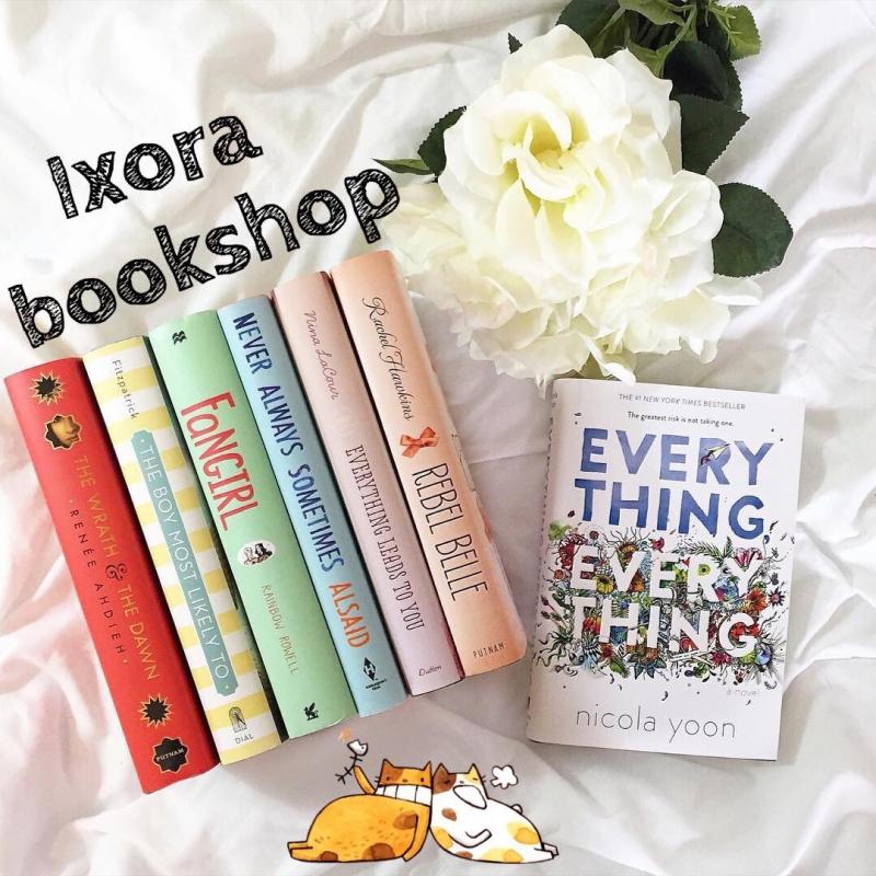 Sách ngoại văn hay tại Ixora Bookshop