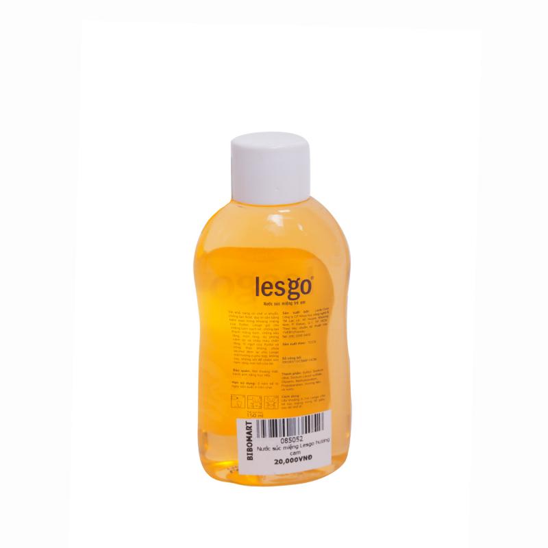 Lesgo giữ cho miệng luôn sạch sẽ, chống tạo thành mảng bám, chống sâu răng, mủn răng, dự phòng viêm lợi và chảy máu chân răng