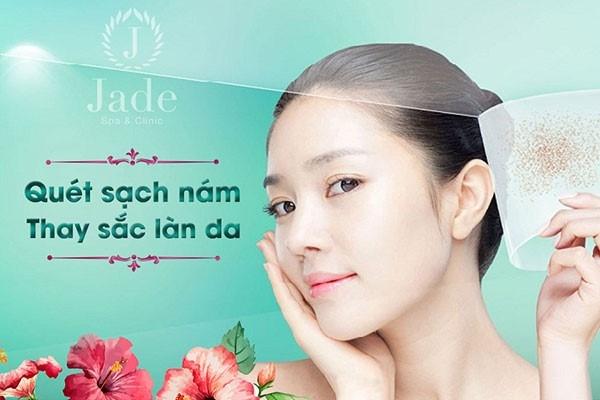 Jade Spa thay sắc cho làn da