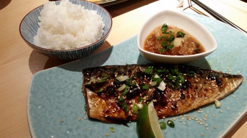 Cá măng biển ở nhà hàng James Kitchen, Đài Bắc