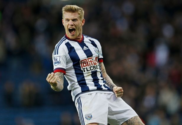 James McClean (West Brom - 35,04 km/h)