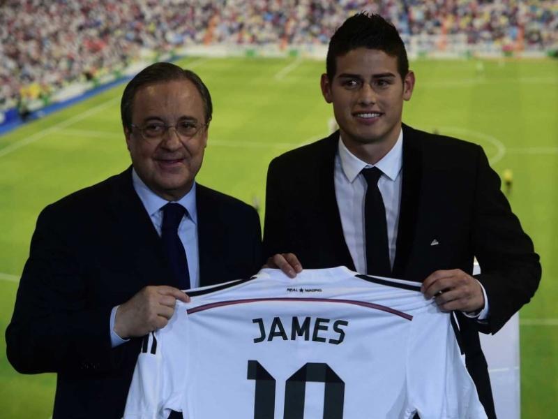 James Rodriguez có màn ra mắt ấn tượng tại Bernabeu