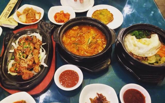 Những món ăn Hàn Quốc ở nhà hàng