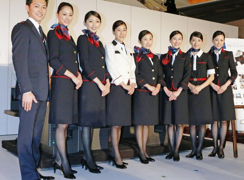 Tiếp viên Japan Airlines