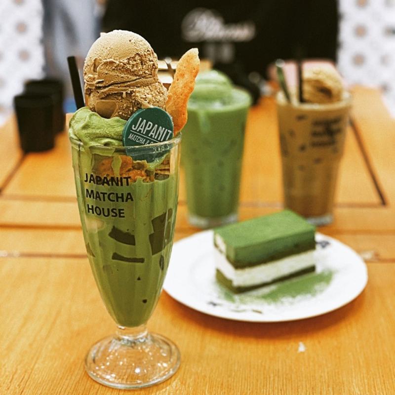Japanit matcha &coffee house là thiên đường của matcha cùng những loại đồ ăn thức uống của xứ sở mặt trời mọc.