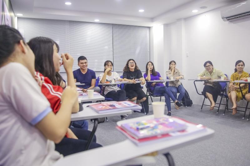 Hình ảnh học viên tại Jaxtina Sài Gòn