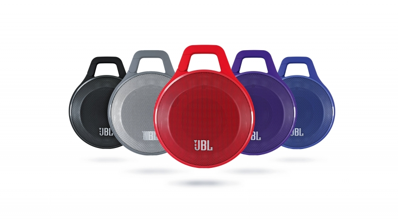 JBL Clip có nhiều màu sắc đa dạng cho bạn chọn lựa.
