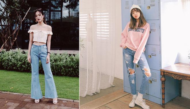 Top 5 shop bán quần jean đẹp và chất lượng nhất trên Instagram