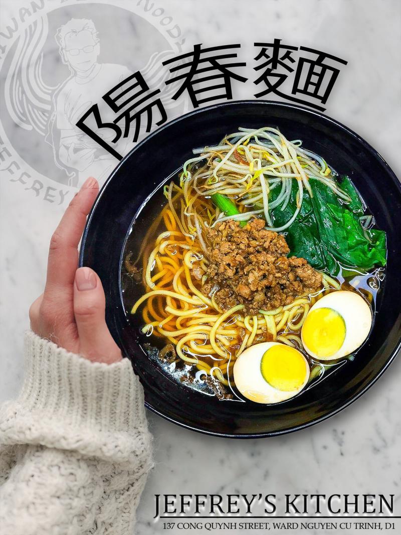 Jeffrey's Kitchen - Taiwanese Beef Noodles & Dumpling