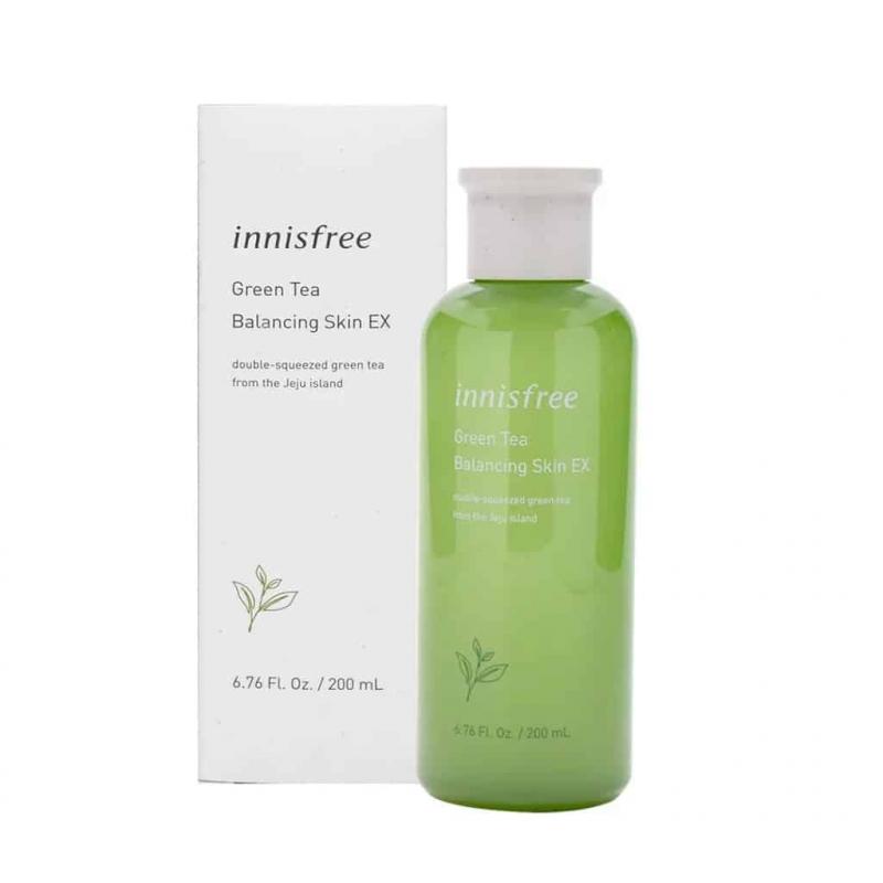 Jeju Innisfree Green Tea Balancing Skin EX