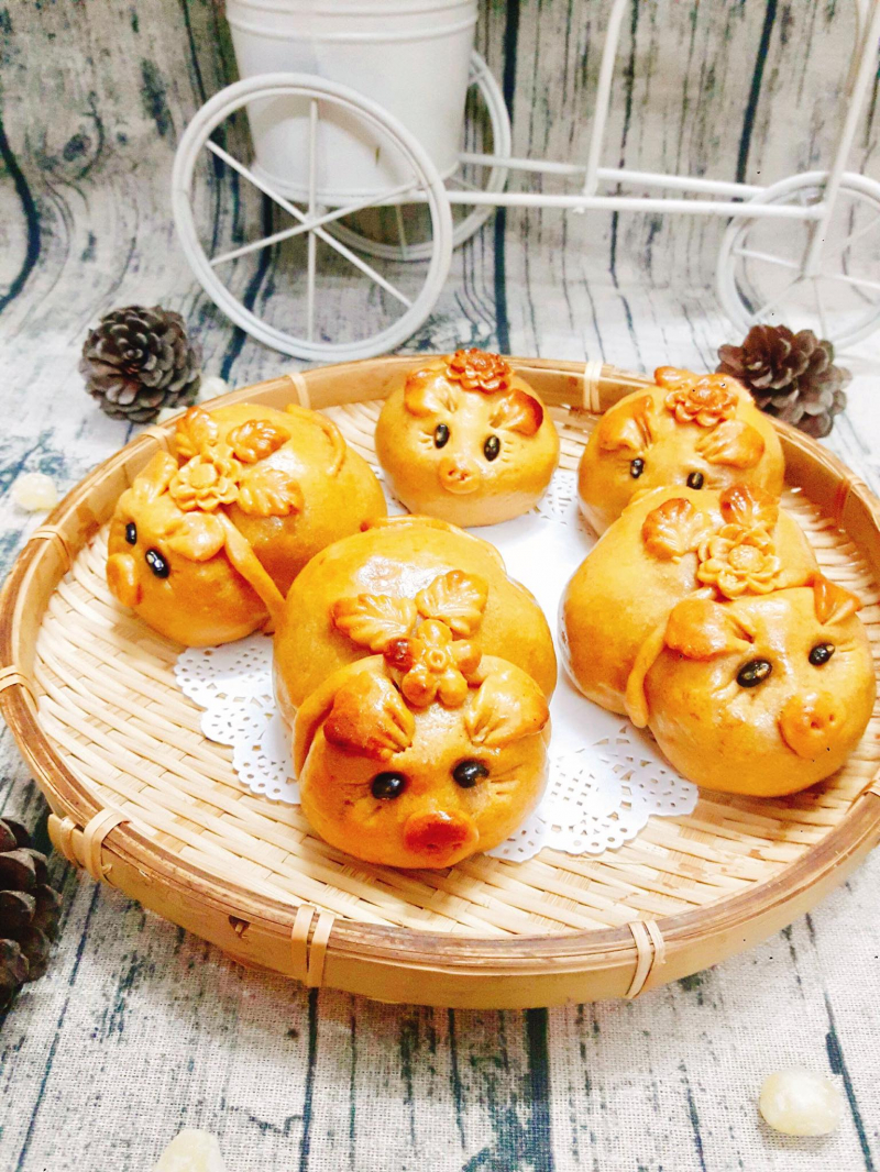 Bánh nhà Phương không chỉ đảm bảo, làm từ nguyên liệu sạch mà còn vô cùng đẹp mắt.