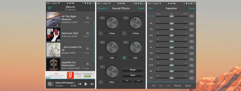 Ứng dụng nghe nhạc jetAudio