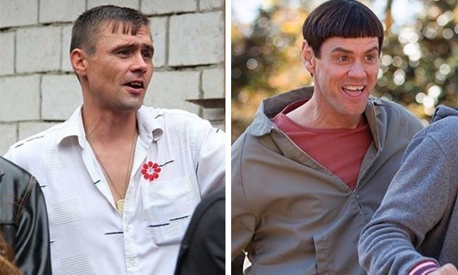 Liệu có phải Jim Carrey đi du lịch Nga không nhỉ?