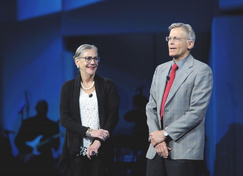 Jim và Lynne Walton